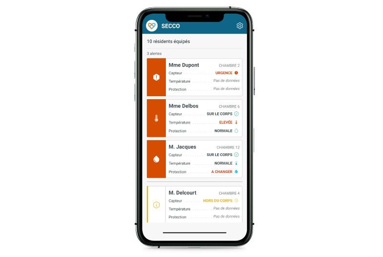 Application Mobile SECCO