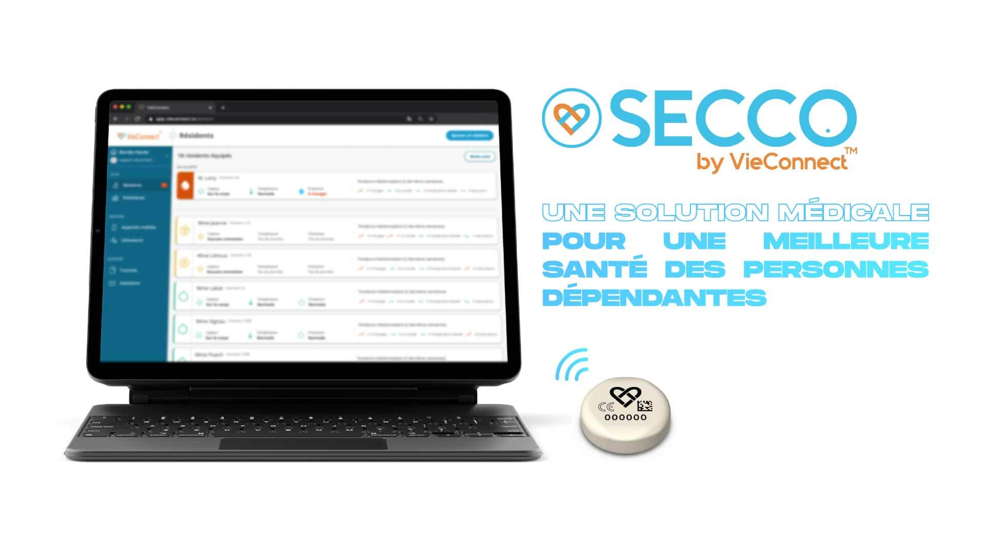 bandeau-SECCObyVieConnect-solution-medicale-dispositif-medical-classe-I